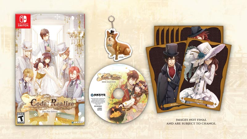 Switch Code Realize Future Blesings Day One Edition all items