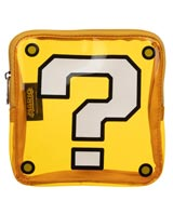 Super Mario Question Block Clear Coin Purse