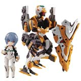 Desktop Army Eva Movie Rei Ayanami & Evangelion No 0 Figure