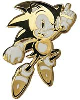 Sonic The Hedgehog Mania 30th Anniversary Limited Edition Pin