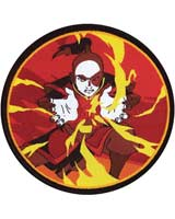 Avatar The Last Air Bender Firebending Zuko 3 Inch Patch