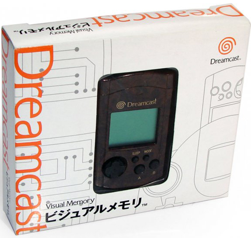 Dreamcast VMU Wood by Sega