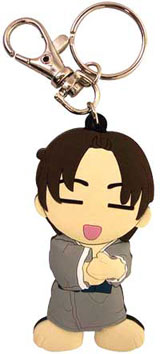 Fruits Basket Shigure Die Cut Keychain