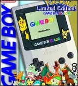 Nintendo Game Boy Color System Pokemon Gold Silver Limited Edition
