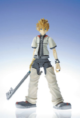 Kingdom Hearts 2 Play Arts ROXAS Action Figure