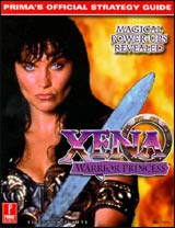 Xena: Warrior Princess Official Strategy Guide Book