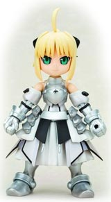 Fate/Stay Night Saber Lily-San Plastic Model Kit