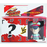 Street Fighter M Bison Mini Figure 2 Pack by Kidrobot