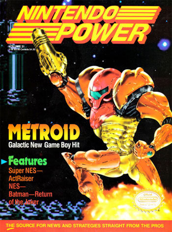 Nintendo Power Volume 31: Metroid