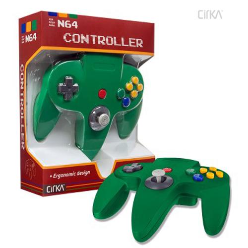 N64 Cirka Controller Green