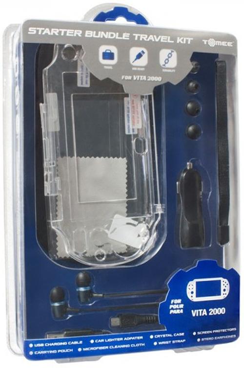 PlayStation Vita 2000 Starter Bundle Travel Kit