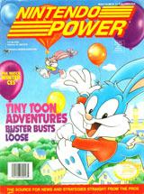 Nintendo Power Volume 46 Tiny Toon Adventures