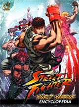 Street Fighter World Warrior Encyclopedia Hardcover