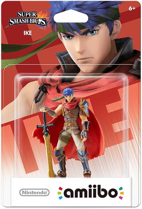 amiibo Ike Super Smash Bros.