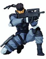 Revoltech Yamaguchi Mini #001: Metal Gear Solid Snake Action Figure