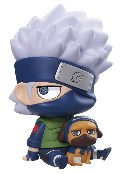 Naruto Shippuden: Kakashi and Pakkun ChimiMega Coin Bank Figure