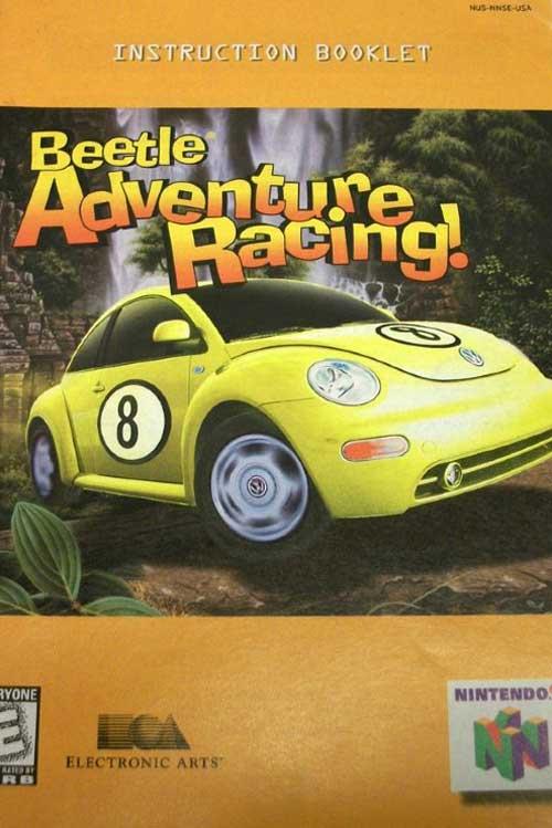 Beetle Adventure Racing (Instruction Manual)