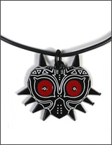 Legend of Zelda Majora's Mask Necklace Black