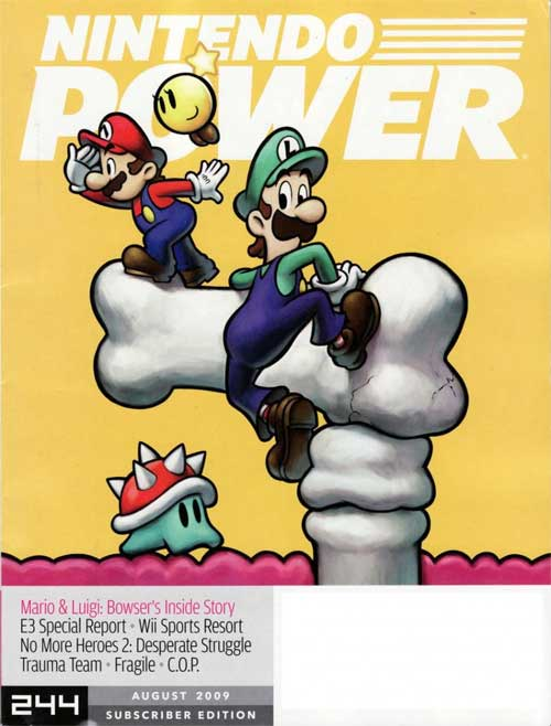 Nintendo Power Volume 244 Mario & Luigi: Bowser's Inside Story