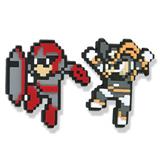 Mega Man X: Proto Man and Bass PVC Pin Set