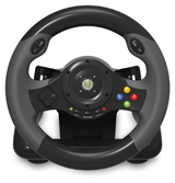 Xbox 360 EX2 Racing Wheel Hori