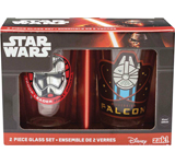 Star Wars E7 10oz Glass Tumbler 2 Pack