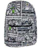 Legend of Zelda Drawings Sublimated Backpack