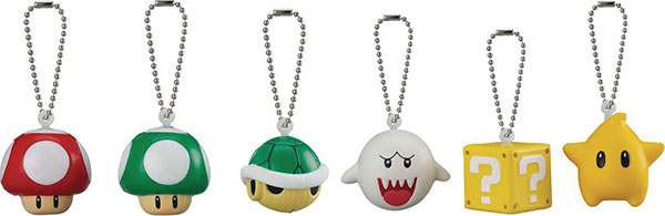Super Mario 3D World Soft Squeeze Keychain