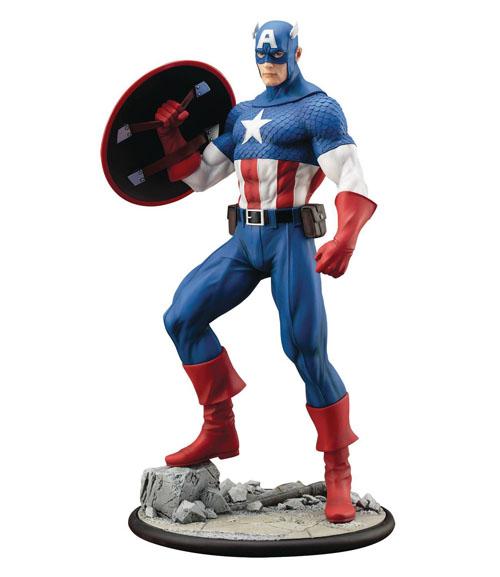 Marvel Captatin America Modern Myth ArtFX Statue