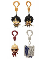 Attack on Titan Backpack Hangers Blind Mystery Box
