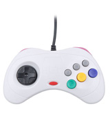 PC/MAC Saturn USB White Controller