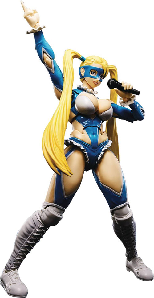 Street Fighter: Rainbow Mika S.H. Figuarts