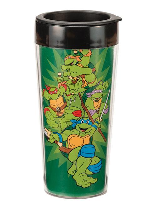 Teenage Mutant Ninja Turtles 16oz Plastic Travel Mug