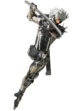 Metal Gear Solid Revengeance Raiden MENSHdge Technical Statue