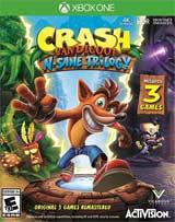 XB1 Crash Bandicoot N. Sane Trilogy Boxart