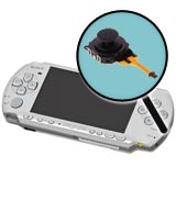 Sony PSP Model 3000 Repairs: Analog Joystick Replacement Service