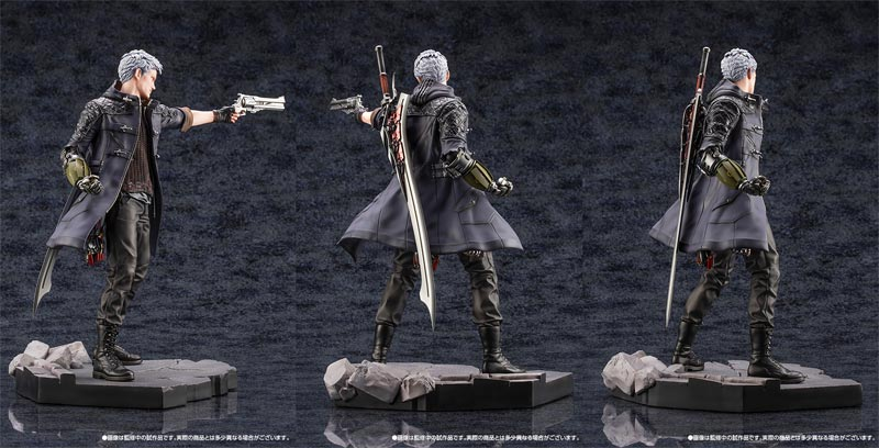 Devil May Cry 5 Nero ArtFX statue additional angles