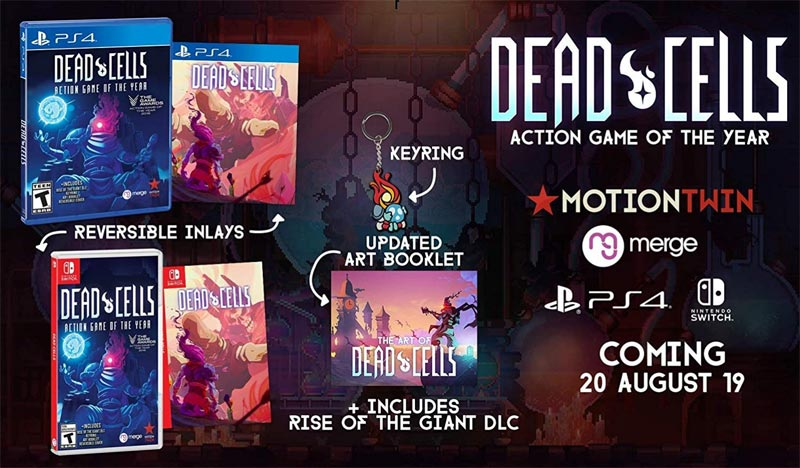 Nintendo Switch Dead Cells Action Game of the Year bonus items