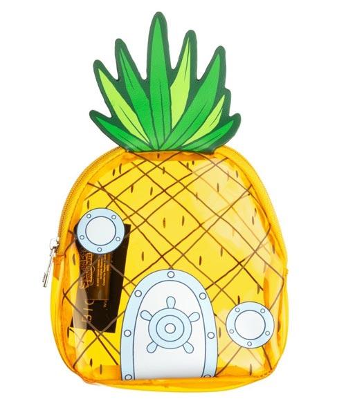 Nickelodeon SpongeBob SquarePants Clear Pineapple Coin Purse