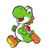 Super Mario Yoshi Running 3