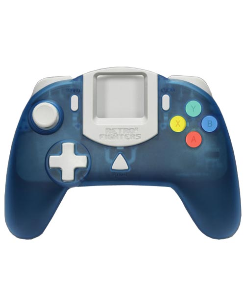 Dreamcast StrikerDC Blue Controller by Retro Fighters
