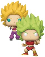 Pop Dragon Ball Super Kale & Kaulifla Exclusive Vinyl Figure 2-Pack