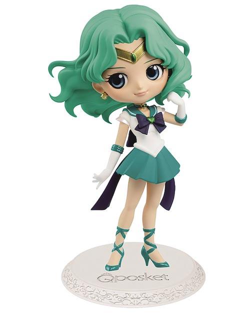 Sailor Moon Eternal Super Sailor Neptune Q-Posket Figure