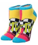 MTV Retro Logo Ankle Socks 5-Pack