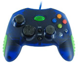 Xbox Controller Clear Blue