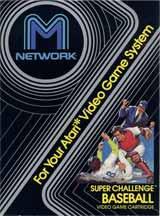Super Challenge Baseball (Mattel)