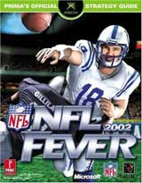 NFL Fever 2002 Official Strategy Guide Book
