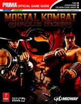 Mortal Kombat: Shaolin Monks Official Strategy Guide Book