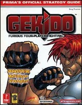 Gekido Official Strategy Guide Book