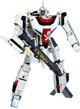 Macross VF-1S Hikaru Final Battle 1/100 Scale Transformable Figure
